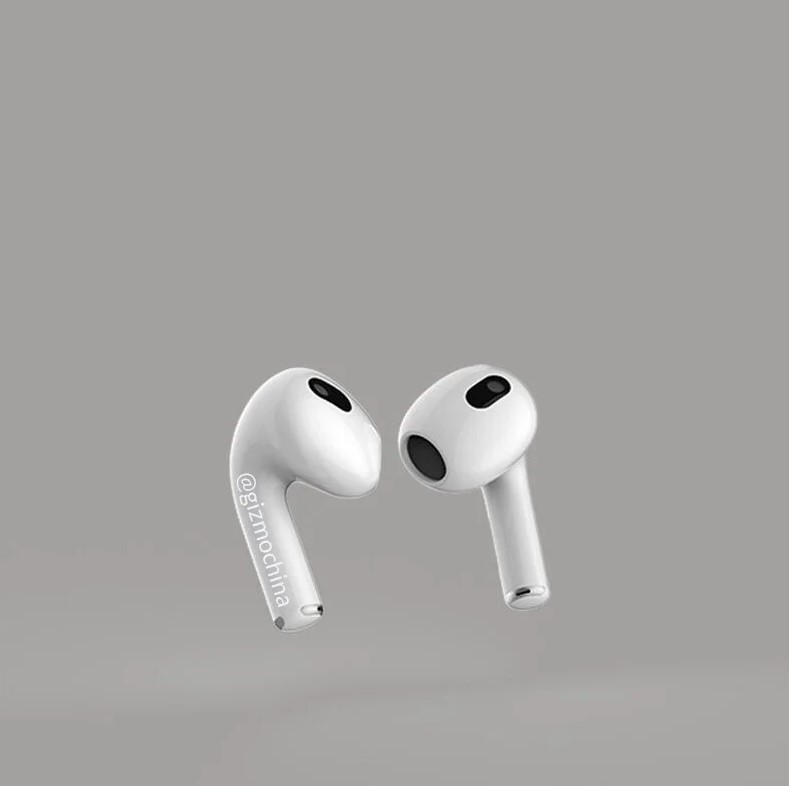 Apple AirPods 3 design revealed 2