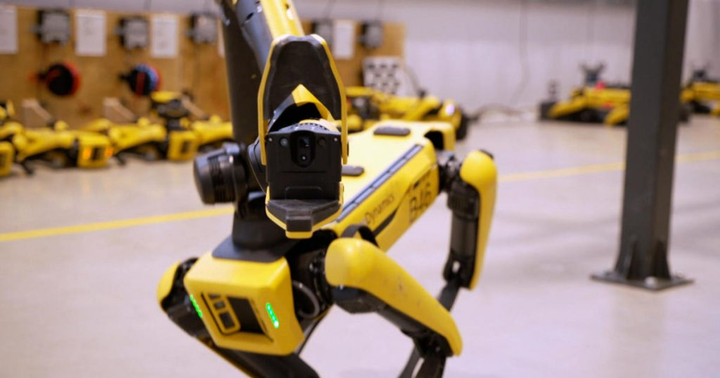 Boston Dynamics workshop viewed for the first time 1