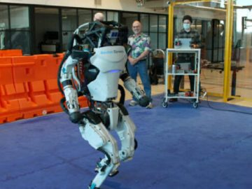 Boston Dynamics workshop viewed for the first time