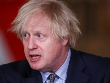 British Prime Minister Johnson Greed and capitalism are behind our success in vaccines