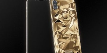 Caviar Gold plated phones are coming in