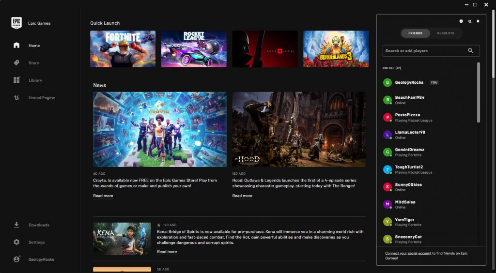 Epic Games announced the new features in a blog post 1