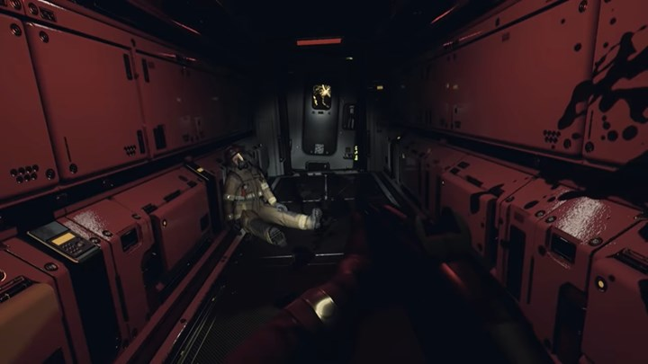 Gameplay video from quantum error the cosmic horror game developed for PS5 PS4 and Xbox Series was shared