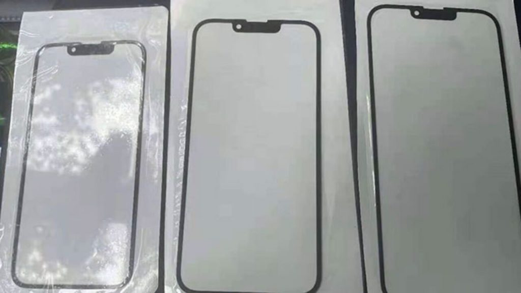 Notch detail of iPhone 13 series revealed 1