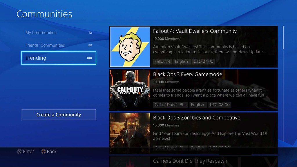 Playstation 4 Communities Close in April