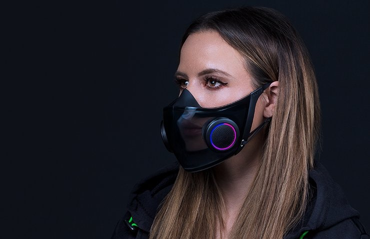 Razer begins production of RGB face masks 1