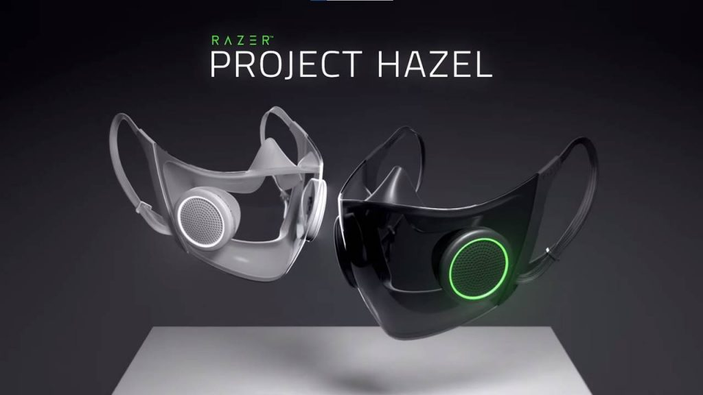 Razer begins production of RGB face masks