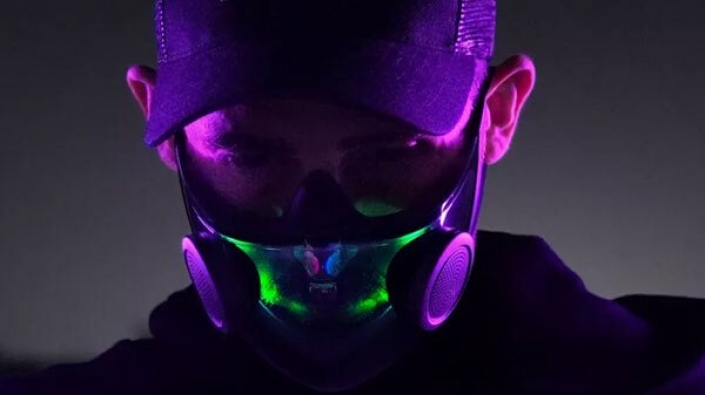 Razer begins production of RGB face masks 2