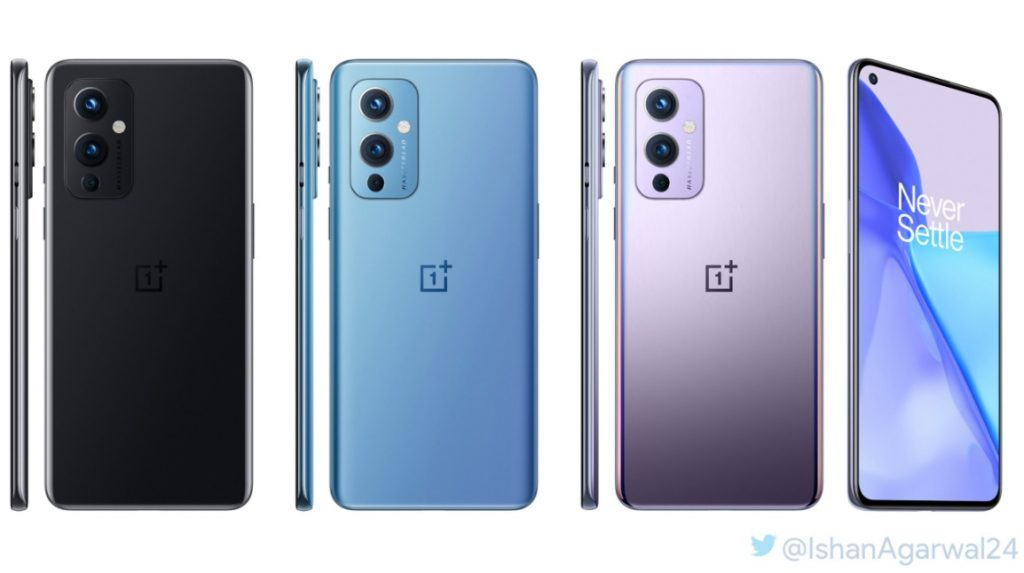 Rendered Images of OnePlus 9 5G Revealed Showing Color Options