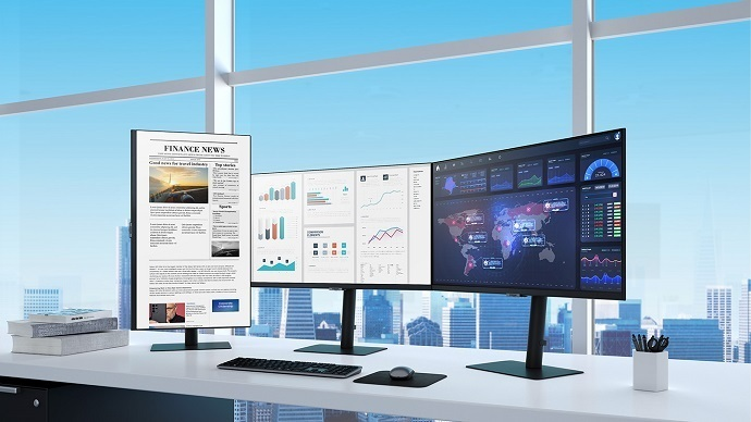 Samsung launches new monitors 1