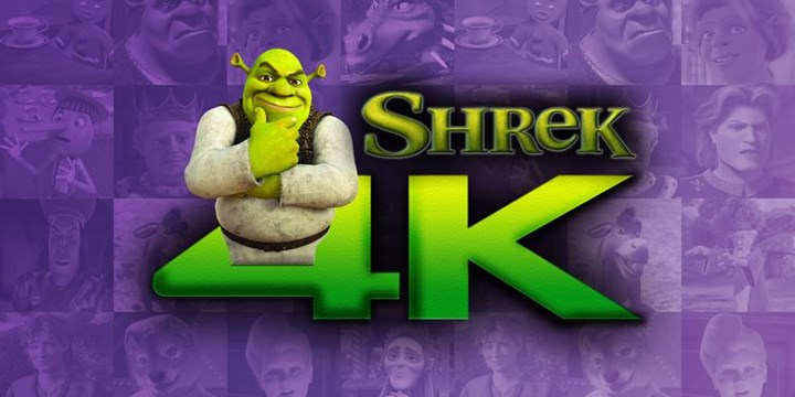 Shrek will be released in 4K format 1