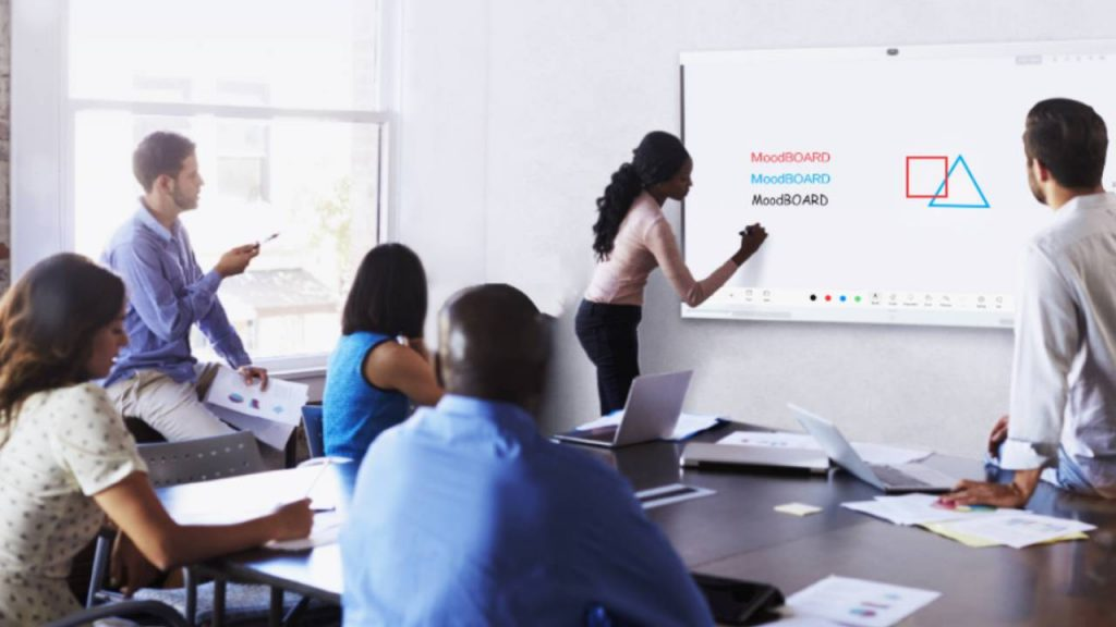 Smart board that protects the eyes Huawei IdeaHub Board