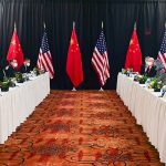Spat between U.S. and Chinese delegations during talks in Alaska