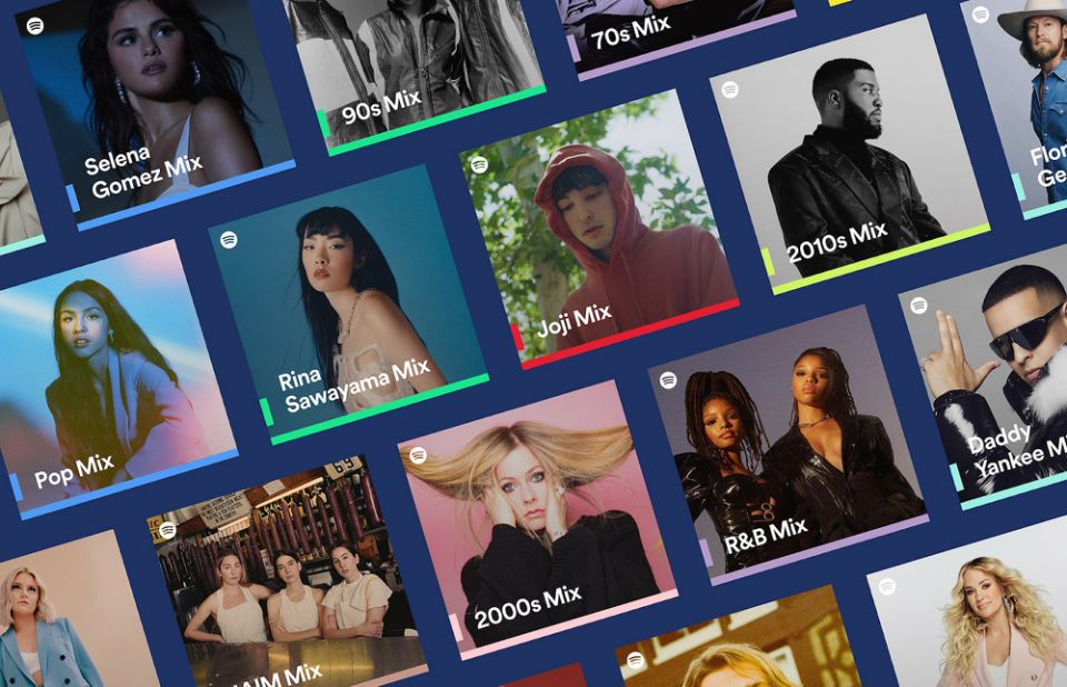Spotify is renewing personalized mixes 1