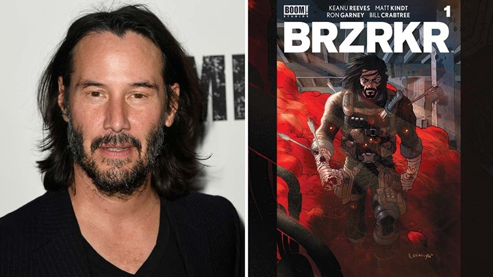 The action packed BRZRKR comic book series written by Keanu Reeves is adapted into film and anime by