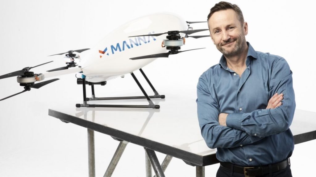 The era of drone delivery begins at Samsung 1