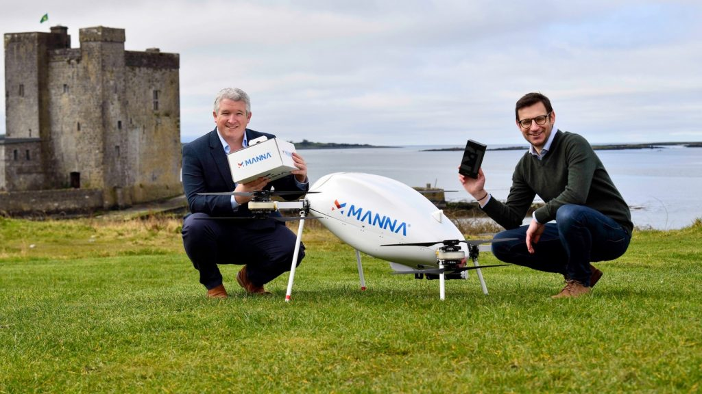 The era of drone delivery begins at Samsung