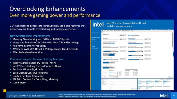 The family of 11th generation Intel Core processors is now available 4
