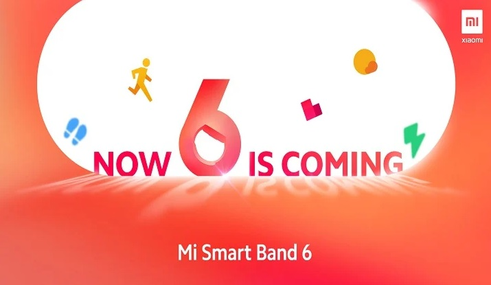The launch date of the Xiaomi Mi Band 6 has been announced