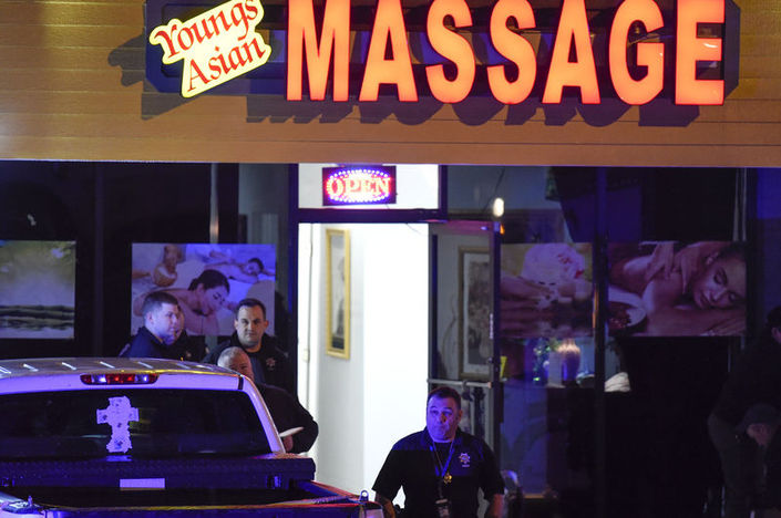 The motive for the attack on 3 massage parlours in the U.S. has been determined 2