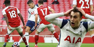 The world talks about this goal Erik Lamela achieved the incredible