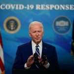 U.S. President Biden 90 percent of U.S. adults will be included in the vaccination program by April 19