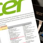 Unexpected attack on Acer They want 50 million