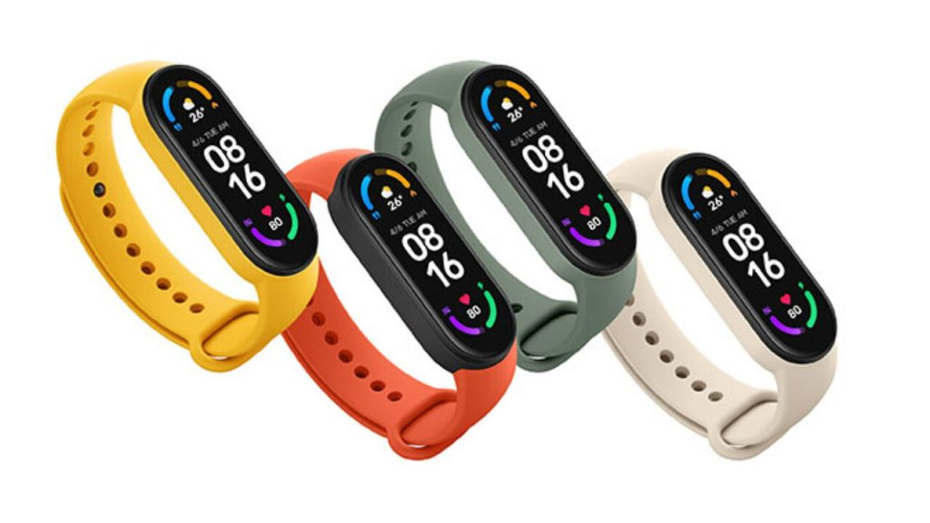 Xiaomi Mi Band 6 a smart wristband with NFC was introduced 1