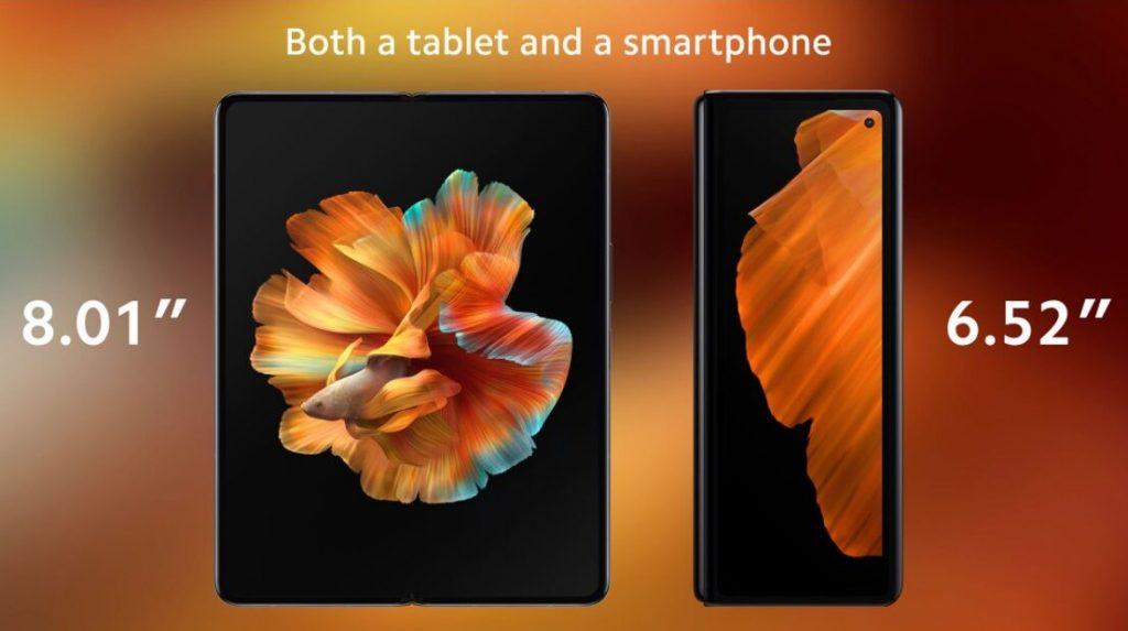 Xiaomis first folding phone the Mi MIX Fold was introduced 1