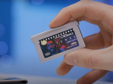 Young YouTuber transferred his movie Tenet to Game Boy