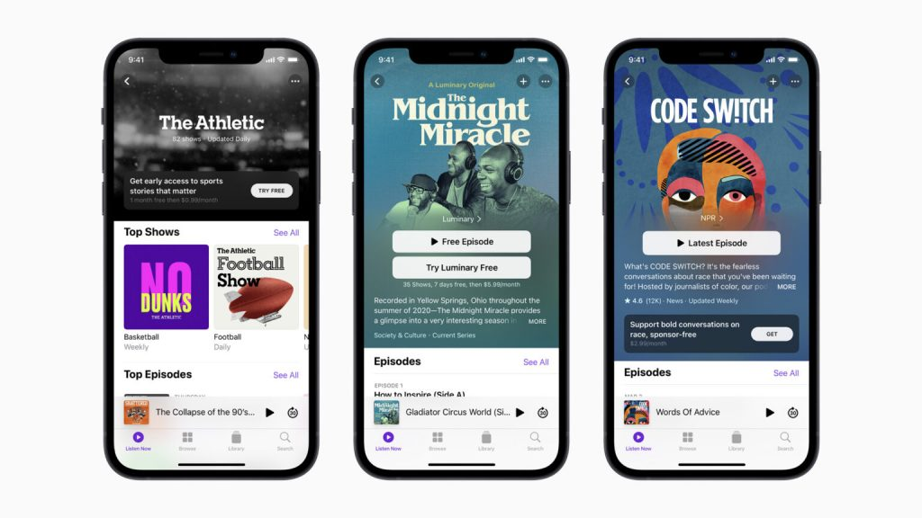 A new era begins on Apple Podcasts 1