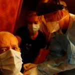 A patient who deliberately infected 22 people with the coronavirus was detained in Spain