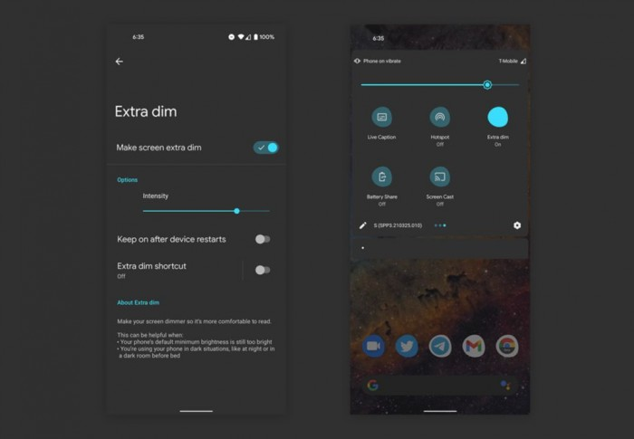 Android 12 gets a new feature for eye health 1