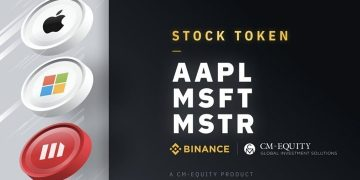 Apple and Microsoft shares are also listed on Binance