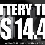 Battery Performance of iPhone Models Receiving iOS 14.5 Update Compared Video