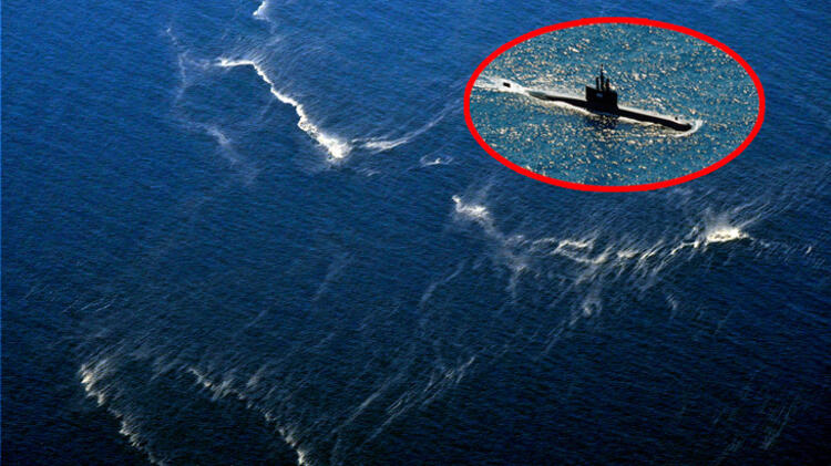 Breaking news The missing submarine was found at 850 meters