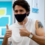Canadian Prime Minister Justin Trudeau gets controversial AstraZeneca vaccine