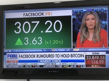 Claims that Facebook bought Bitcoin turned out to be untrue