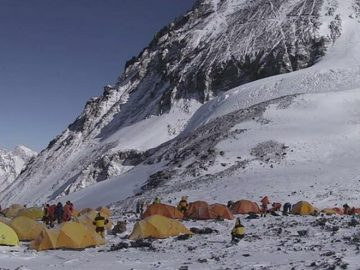 Corona alert at the top of the world First case on Mount Everest