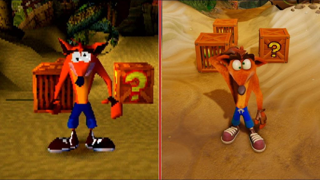 Crash Bandicoot 4 was defeated by pirate as released 1