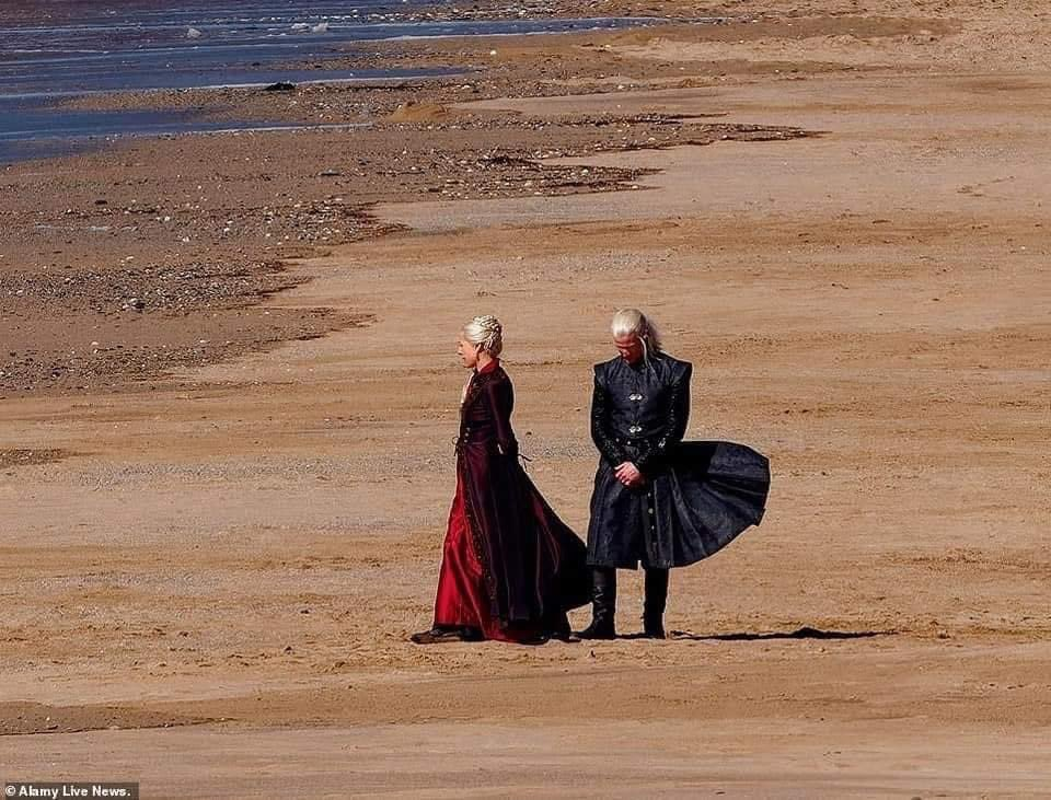 First images from the new Game of Thrones series House Of The Dragon shared 3