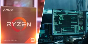 Frightening open on processors with Zen 3 architecture