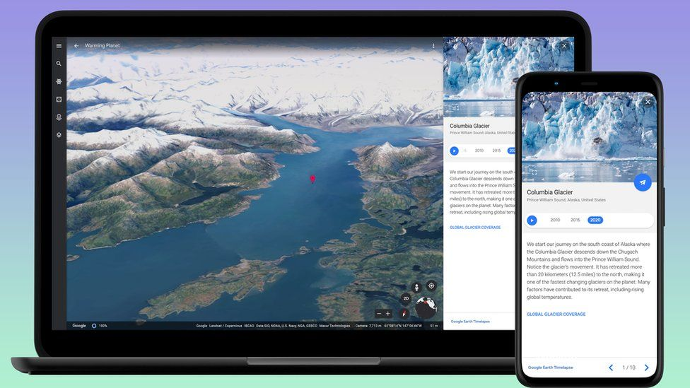 Google Earth will take you on a journey through time 1