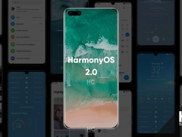 Harmony OS 2.0 is picture running