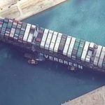 He was stranded in the Suez Canal A record compensation claim for the Japanese firm