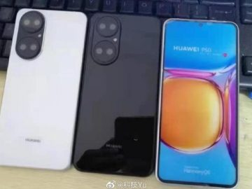 Huawei P50 leaked with the clearest image