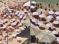 In Israel where the mask requirement has been lifted people have flocked to beaches