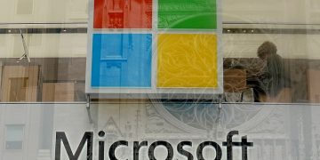 Microsoft slumps as its results arent as impressive as expected
