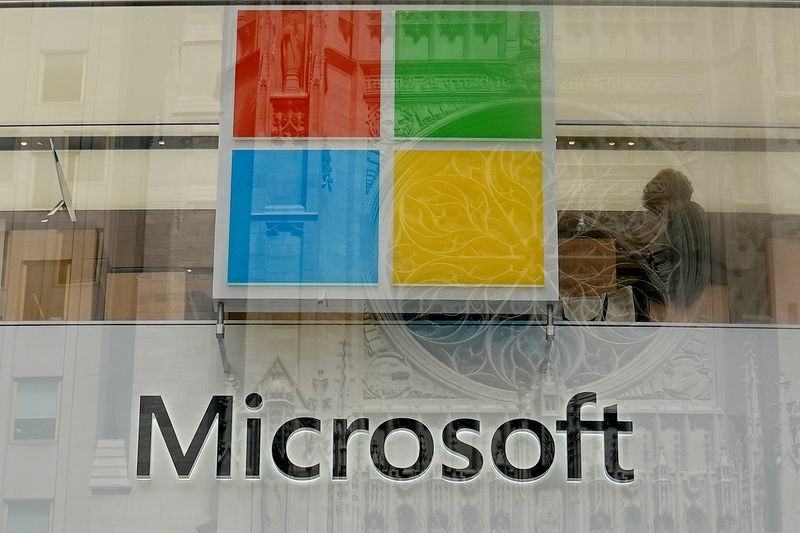 Microsoft slumps as its results arent as impressive as