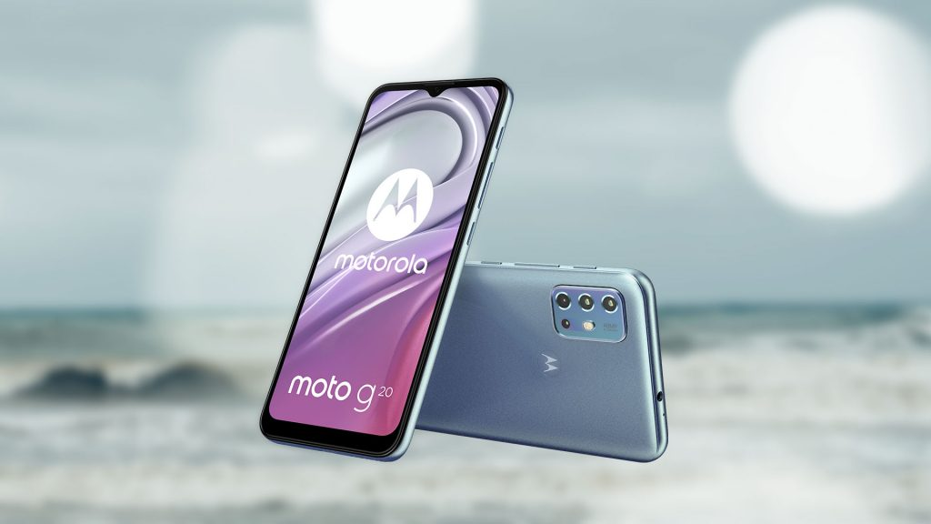 Moto G20 introduced at a price of 150 euros 1